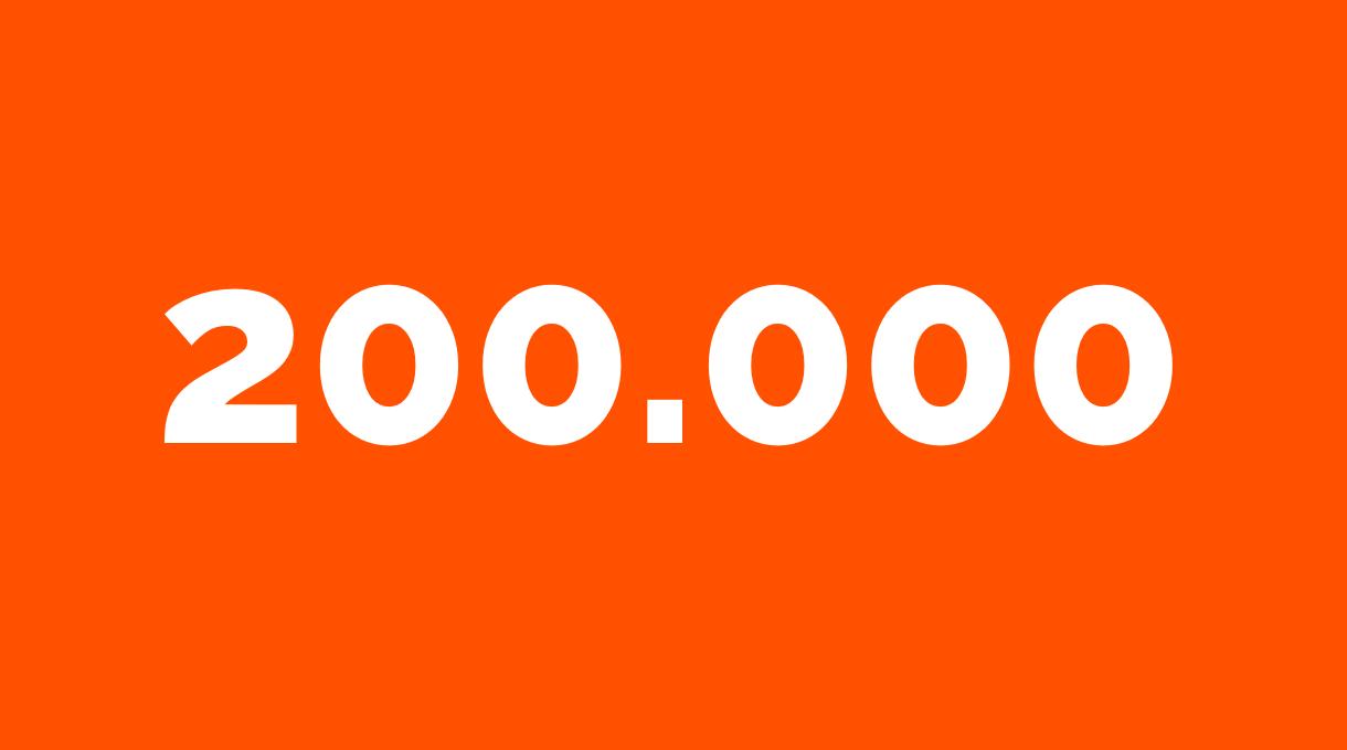 Zahl der Woche 200.000 aus dem Bereich Datenschutz