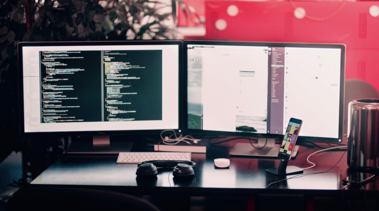 Arbeitsschutz Büro und Bildschirm