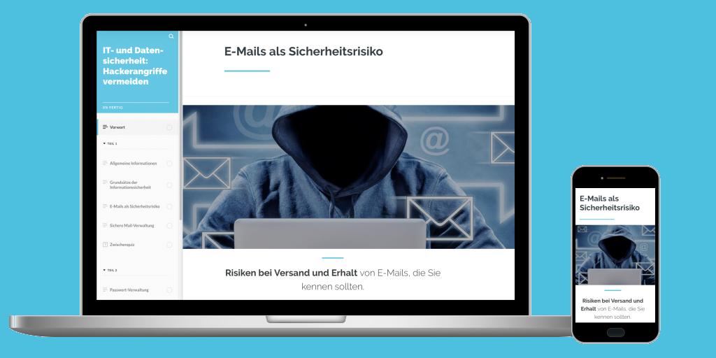 IT- und Datensicherheit. Hackerangriffe vermeiden. capitoo Online-Schulung