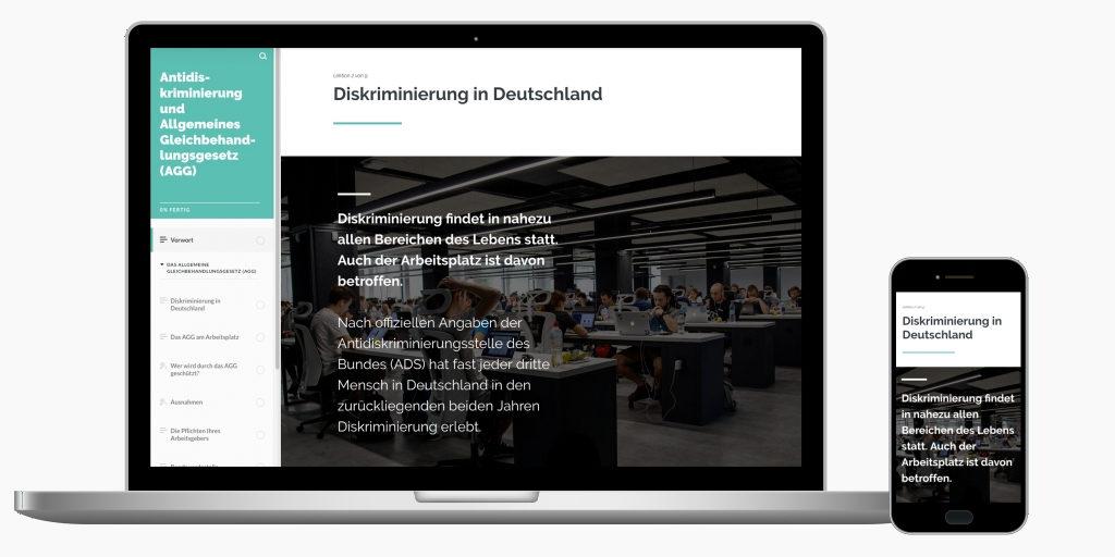 Online-Schulung Allgemeines Gleichbehandlungsgesetz AGG