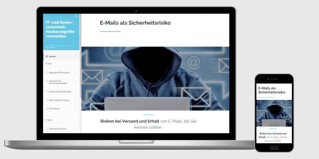 Informationssicherheit Hackerangriffe vermeiden