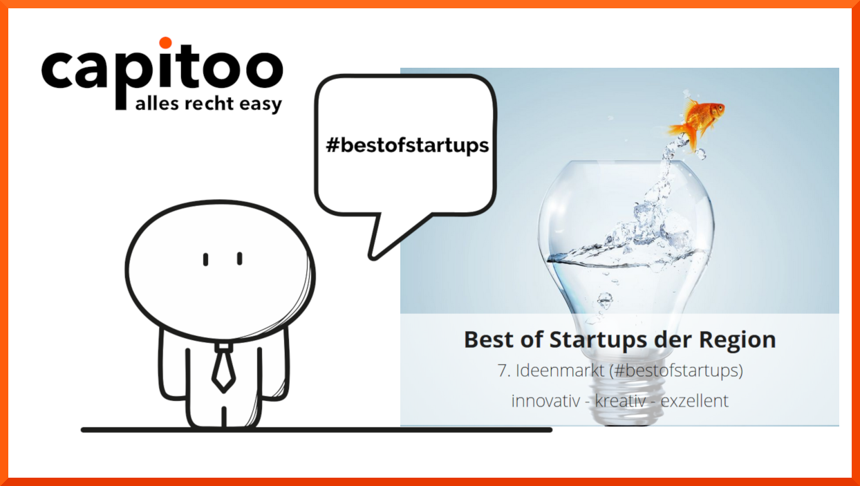 capitoo nimmt an Best of Startups teil
