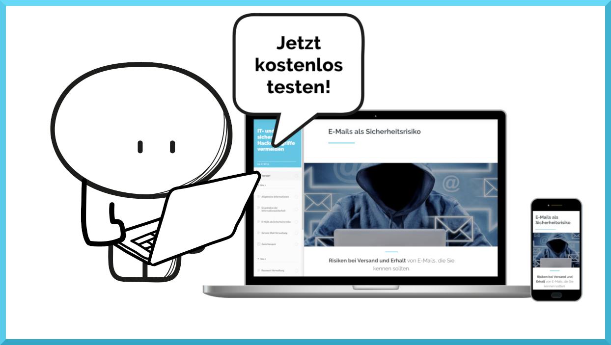 IT und Datensicherheit. Online-Schulung